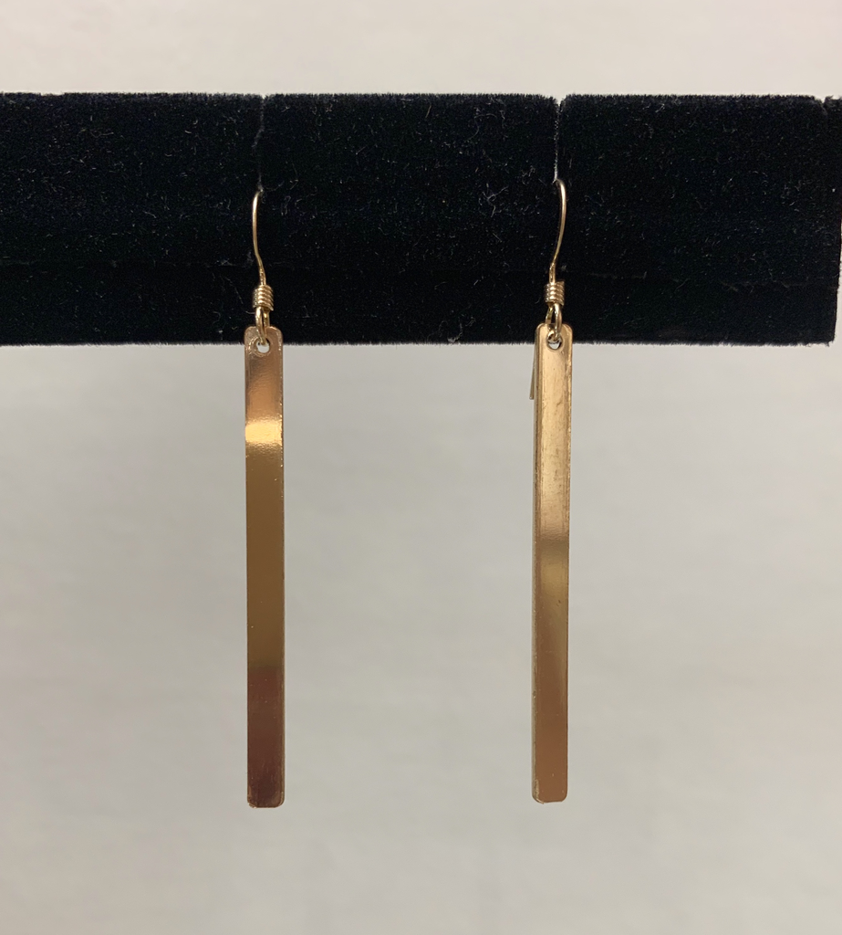 Rose Wong GF Bar Earrings
