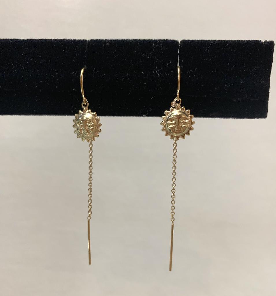 Rose Wong GF Sun Threaders Earrings