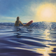 Kelly Keane ORIGINAL OIL PAINTING: SUNSET SESSION 24X24