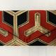 Leina Aonuma BLACK RED GOLD (ENVELOPE) OBI CLUTCH