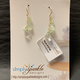 Simply Sparkle Designs 6798 Gold Fill Earrings with Prehnite Briolette, Green Opal Rondelle, Mystic Prehnite Quartz Rondelle, Green Amethyst Briolette