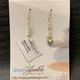 Simply Sparkle Designs 6926 Gold Fill Earrings with Lemon Quartz (diamond-shape)