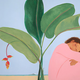 "Pegge Hopper A CHOICE AFTERNOON, 20"" x 28"" + .75"", Signed Giclee Print on Canvas with gallery wrap thin"