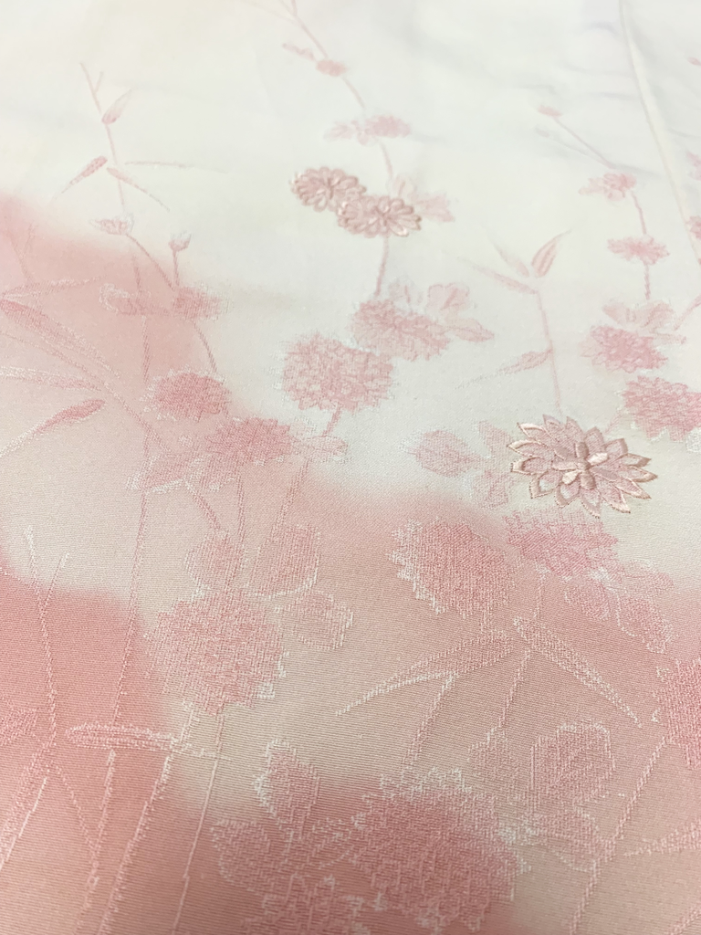 Elizabeth Kent Pink Ombre Flowers Jacket