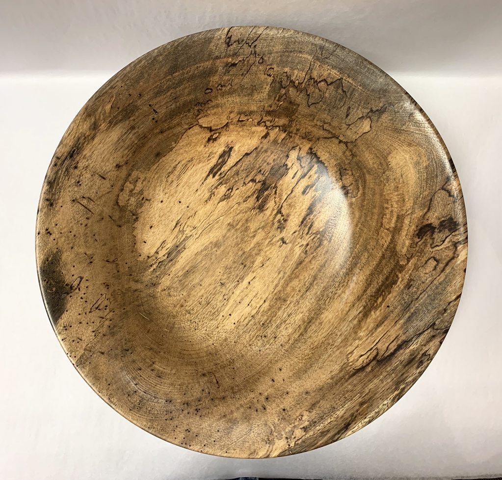Andy Cole 122 13X4 SPALTED MANGO BOWL
