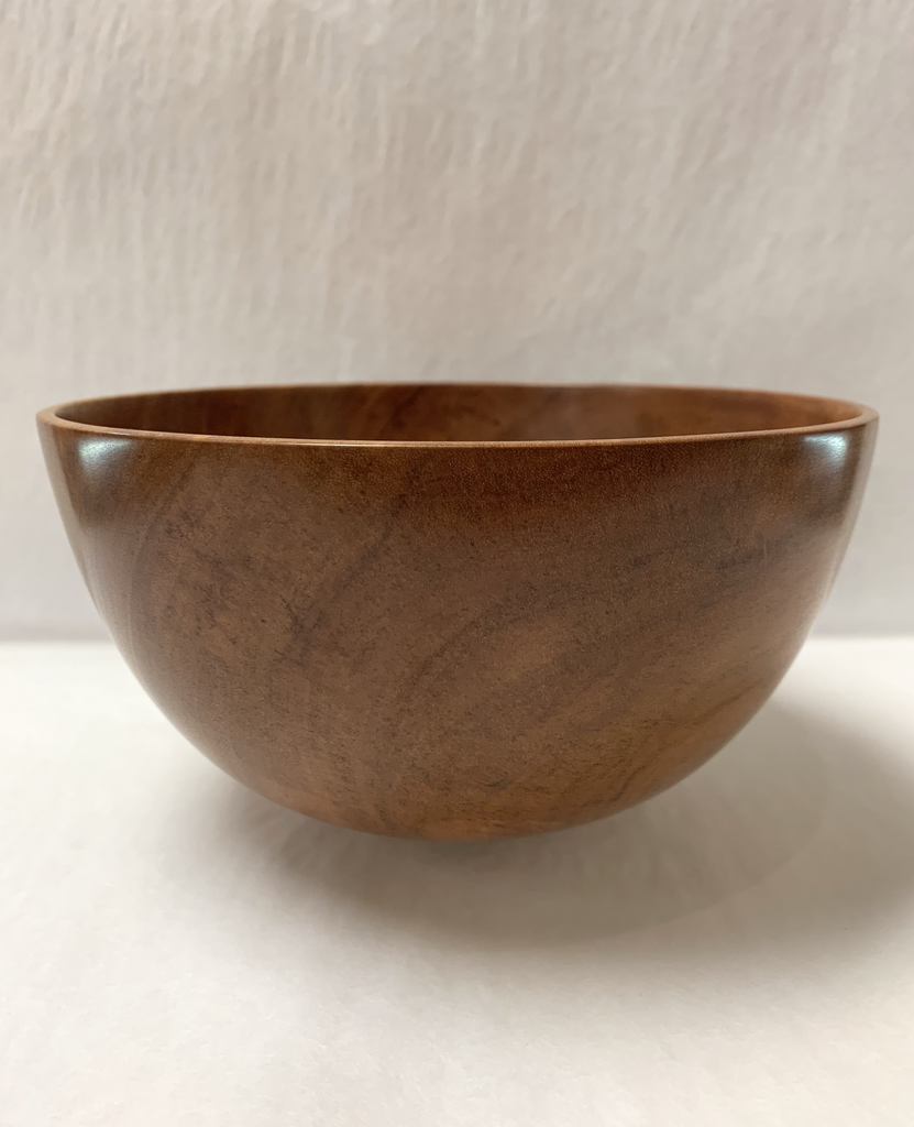 Andy Cole 129 7X4 PAPER BARK BOWL