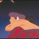 "Pegge Hopper MAHINA, 28""X38"", ORIGINAL LITHOGRAPH #81/175, FLOATED ON LINEN MATTING WITH SOLID KOA FRAME (PLEXIGLASS)"