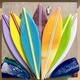 """Shelly Batha WALL ART: ZEN SURF 6""""X6"""""""