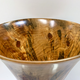 "Akamai Woods #1840 HANDTURNED NORFOLK PINE BOWL, 11""WX8.75""H, SPALTED WITH KNOTS, ROMAN SHAPE"