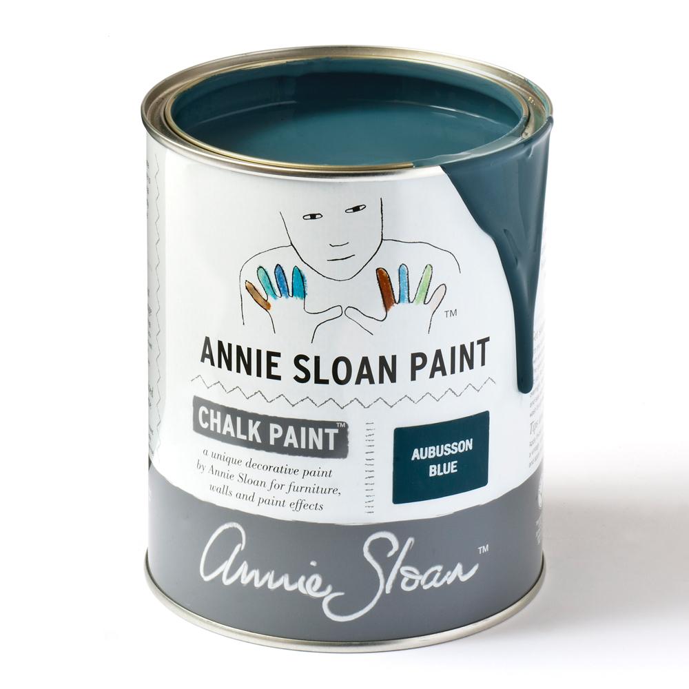 Annie Sloan AUBUSSON BLUE- LARGE