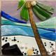 Shelly Batha WALL ART: COCONUT BEACH