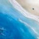 Sarah Caudle BAMBOO PRINT, 8X10, BIG BEACH