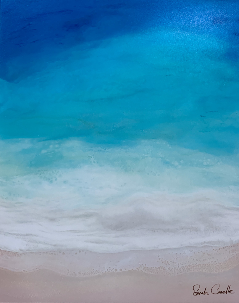 Sarah Caudle BAMBOO PRINT, 8X10, BEACH DREAMING