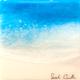 "Sarah Caudle ORIGINAL RESIN PAINTING- EDEN SPLASH 10, 6""X6"" UNFRAMED"