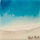 "Sarah Caudle ORIGINAL RESIN PAINTING- EDEN SPLASH 9, 6""X6"" UNFRAMED"