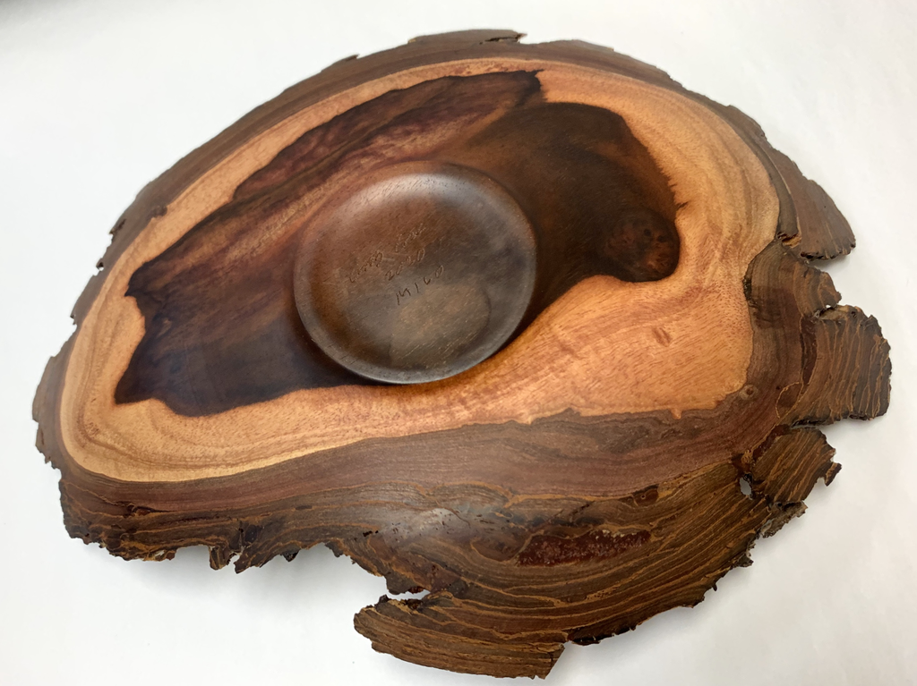Andy Cole 133 11X2 NATURAL EDGE MILO BOWL