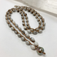 "MiNei Designs 34""  Job's Tears with Tahitian Pearl"