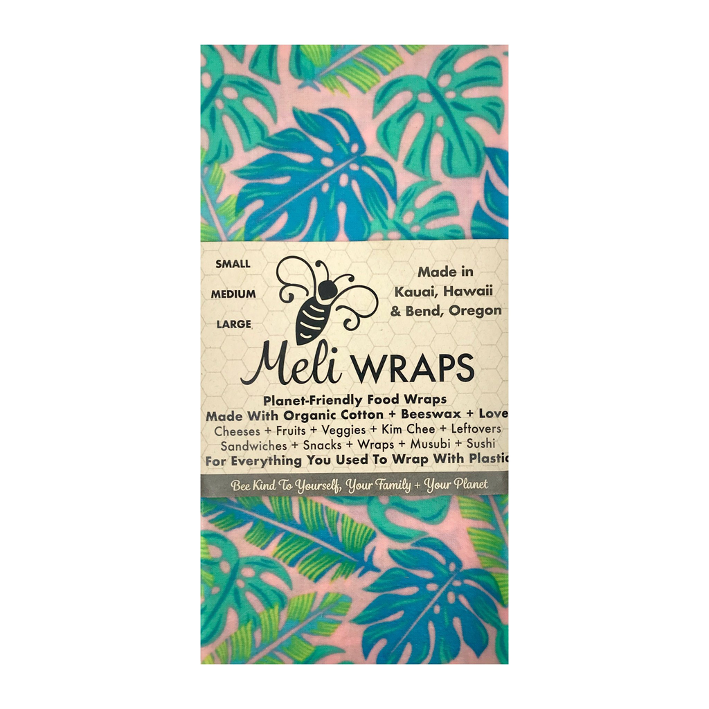 Meli Wrap KAHANU (PINK TROPICAL) MELI WRAPS: 3 PACK SM/MED/LG