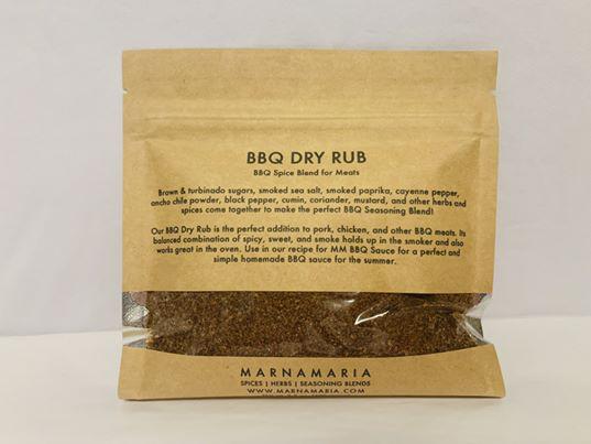 Marnamaria BBQ DRY RUB: KRAFT ENVELOPE (1/2 CUP)