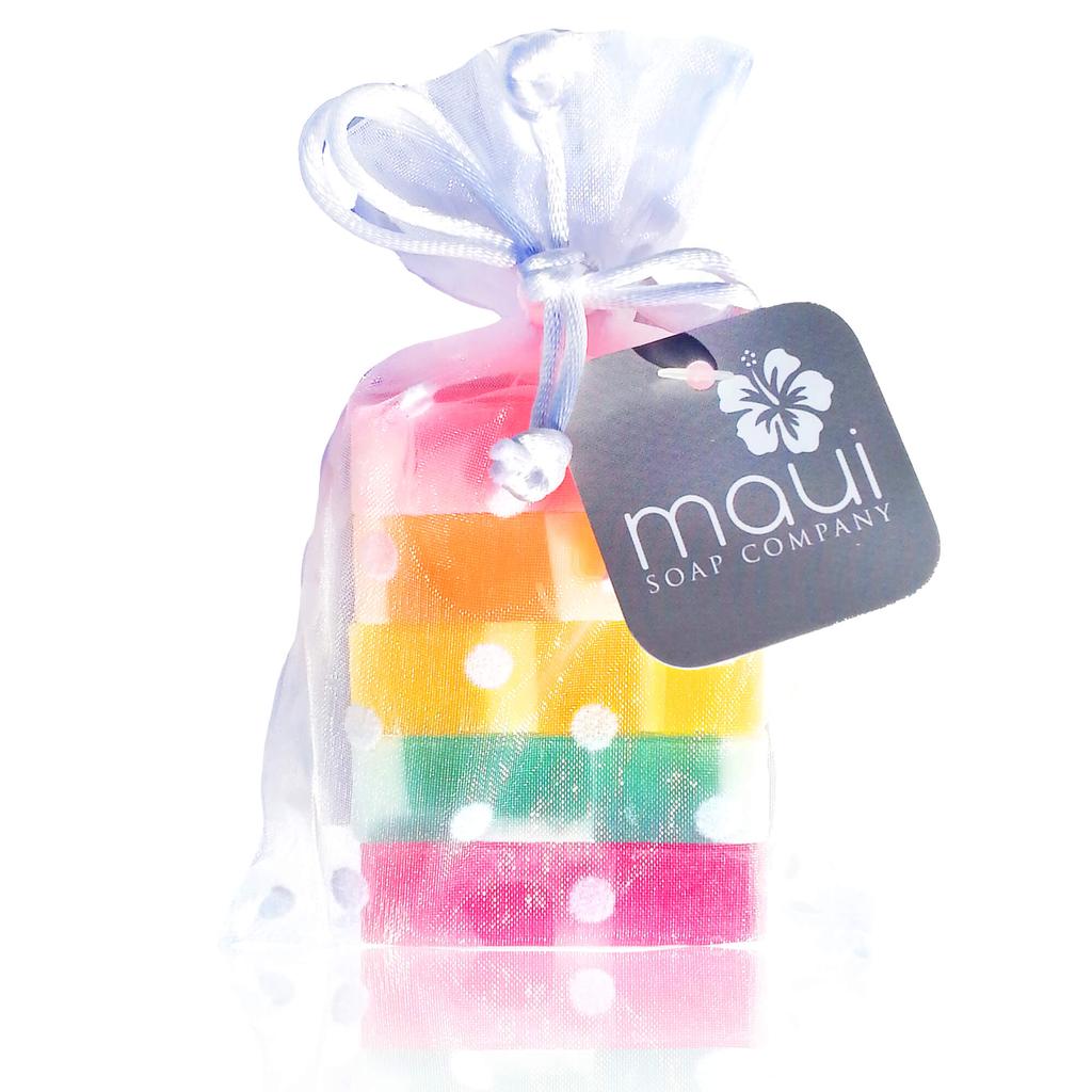 Maui Soap Company RAINBOW SOAP GIFT SET