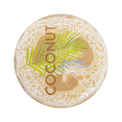 Maui Soap Company COCONUT EXFOLIATING LOOFAH SOAP