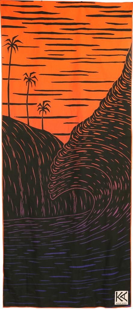 Kean Arts MICROFIBER BEACH TOWEL - NA PALI