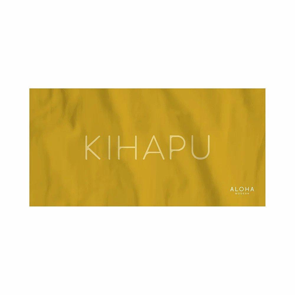 Aloha Modern BEACH TOWEL-KIHAPU