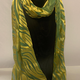 Hana Lima Hand Dyes Hand Dyed Scarf (no tassles) - Lime Green