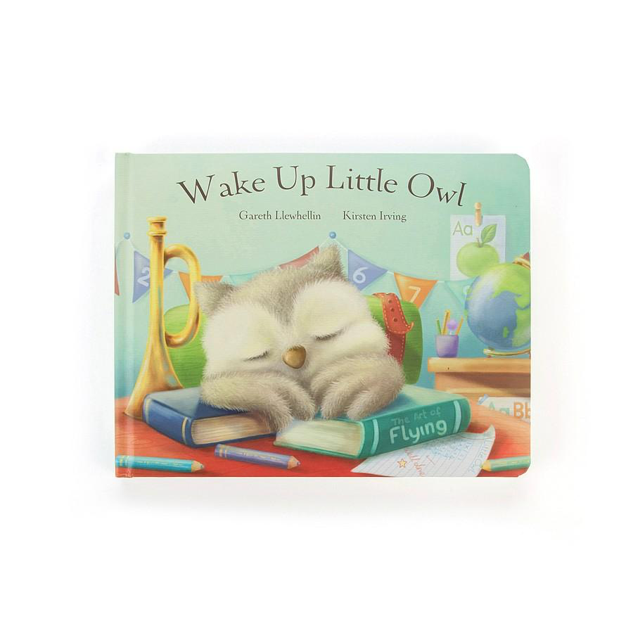 Jellycat WAKE UP LITTLE OWL BOARD BOOK
