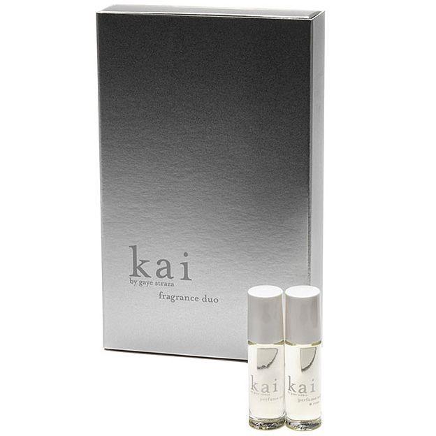 Kai KAI FRAGRANCE DUO - (KAI & ROSE 1/8 OZ PERFUME OILS)