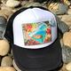 Susan Wickstrand TRUCKER HAT: HONU LOVE