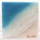 "Sarah Caudle ORIGINAL RESIN PAINTING - SPECIAL MOMENTS 7, 6""X6"" UNFRAMED"