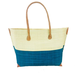 Shebobo Monterey Straw Bag-Turquoise
