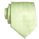 Pineapple Palaka Honu Green: Modern Necktie