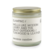 Anecdote Candles Glamping (Teakwood & Leather) Glass Jar Candle (7.8oz Glass Jar)