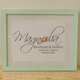 Magnolia Designs 11X14 RUSTIC WOODEN FRAME, DISTRESSED MINT