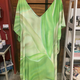 Angela Tisseraud KAFTAN: BRIGHT GREEN BANANA (NO POCKET)