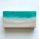 """Sarah Caudle ORIGINAL RESIN PAINTING - FIND A WAY 4, 6""""X12"""" UNFRAMED"""