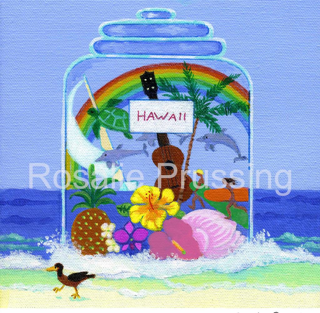 Rosalie Prussing LG PRINT: FUN DAYS IN HAWAII 100/750
