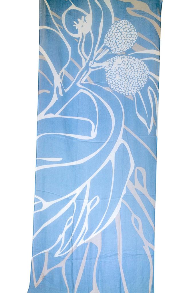 Pineapple Palaka ULU BLUE/BEIGE SCARF