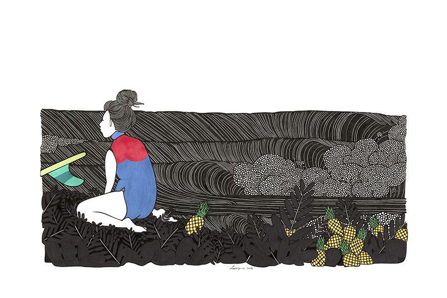 Kris Goto Goofy, 24X36 Art Print