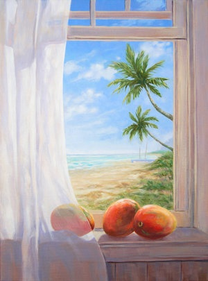 """Carol Collette Good Morning, 11""""x14"""" Gallery Wrap Giclee on Canvas"""