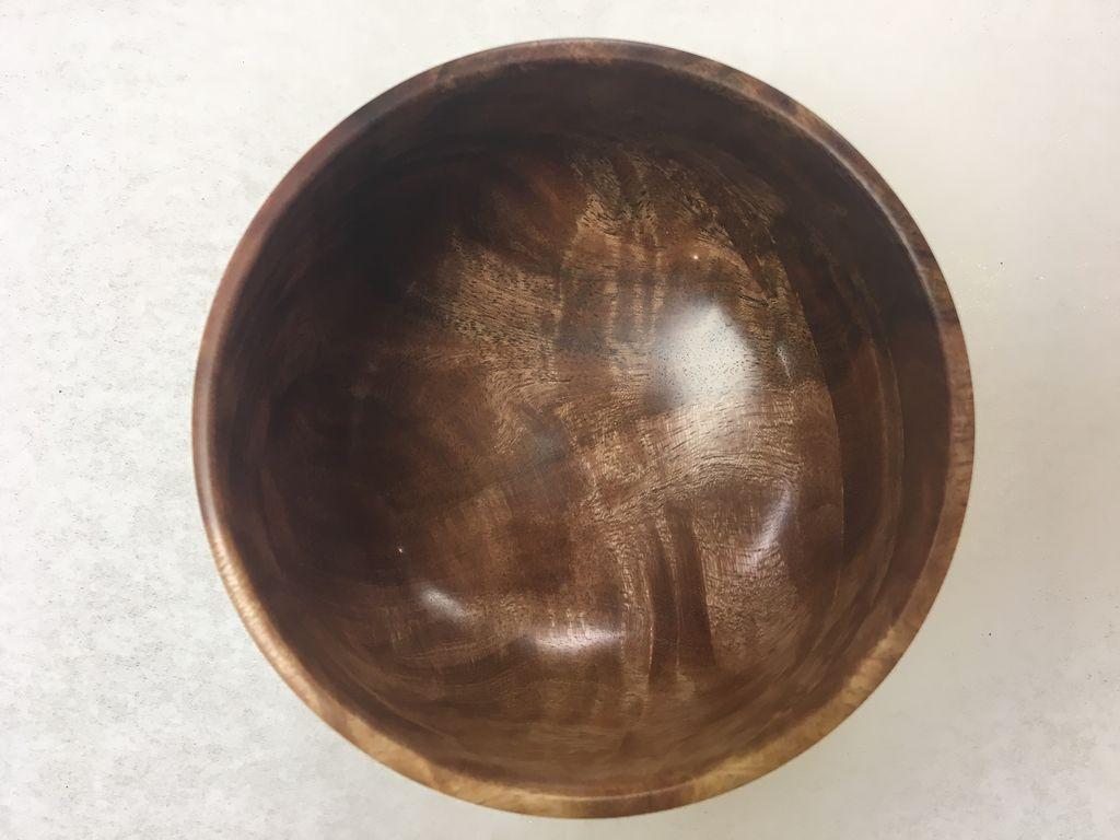 Andy Cole 119 4x3 False Kamani Bowl