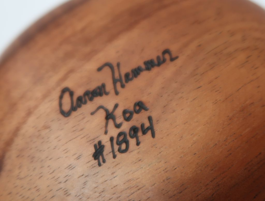 "Aaron Hammer #1894 KOA BOWL TRADITIONAL 6""X4"""