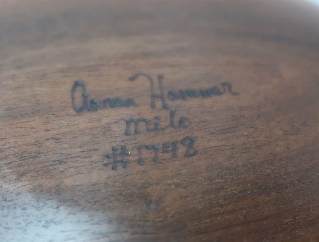 Aaron Hammer 1748 MILO BOWL