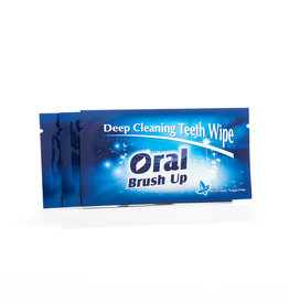 Lingette nettoyante pour dent
