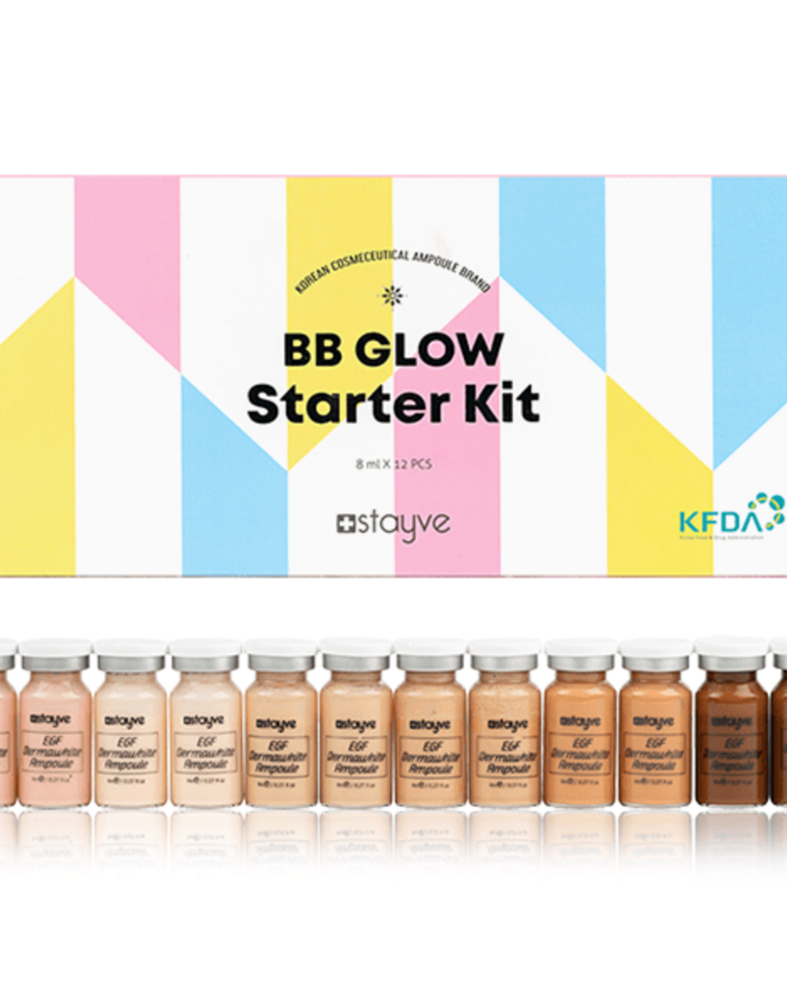 Stayve BB Glow kit de démarrage