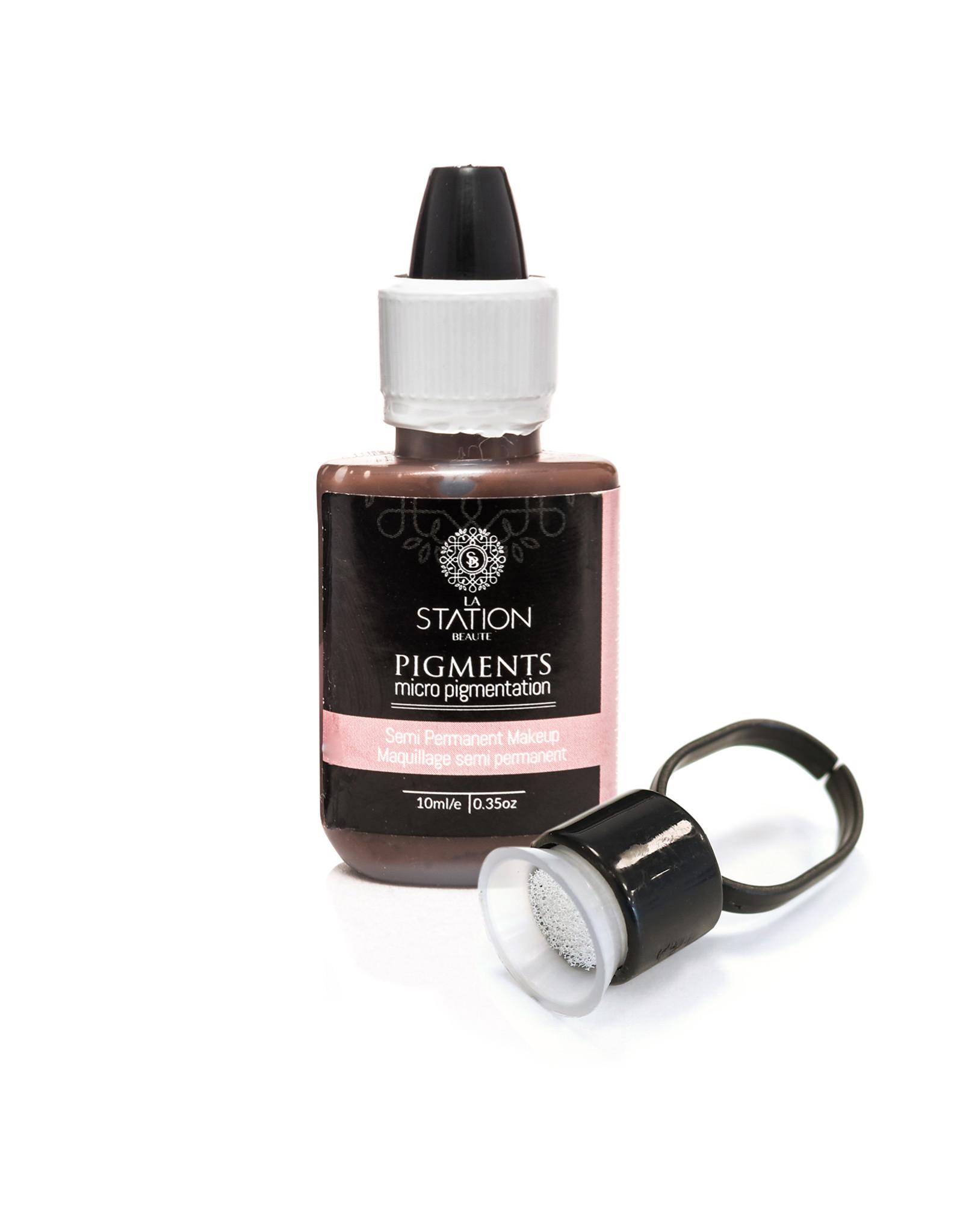 Bagues de pigment avec éponge pqt.15