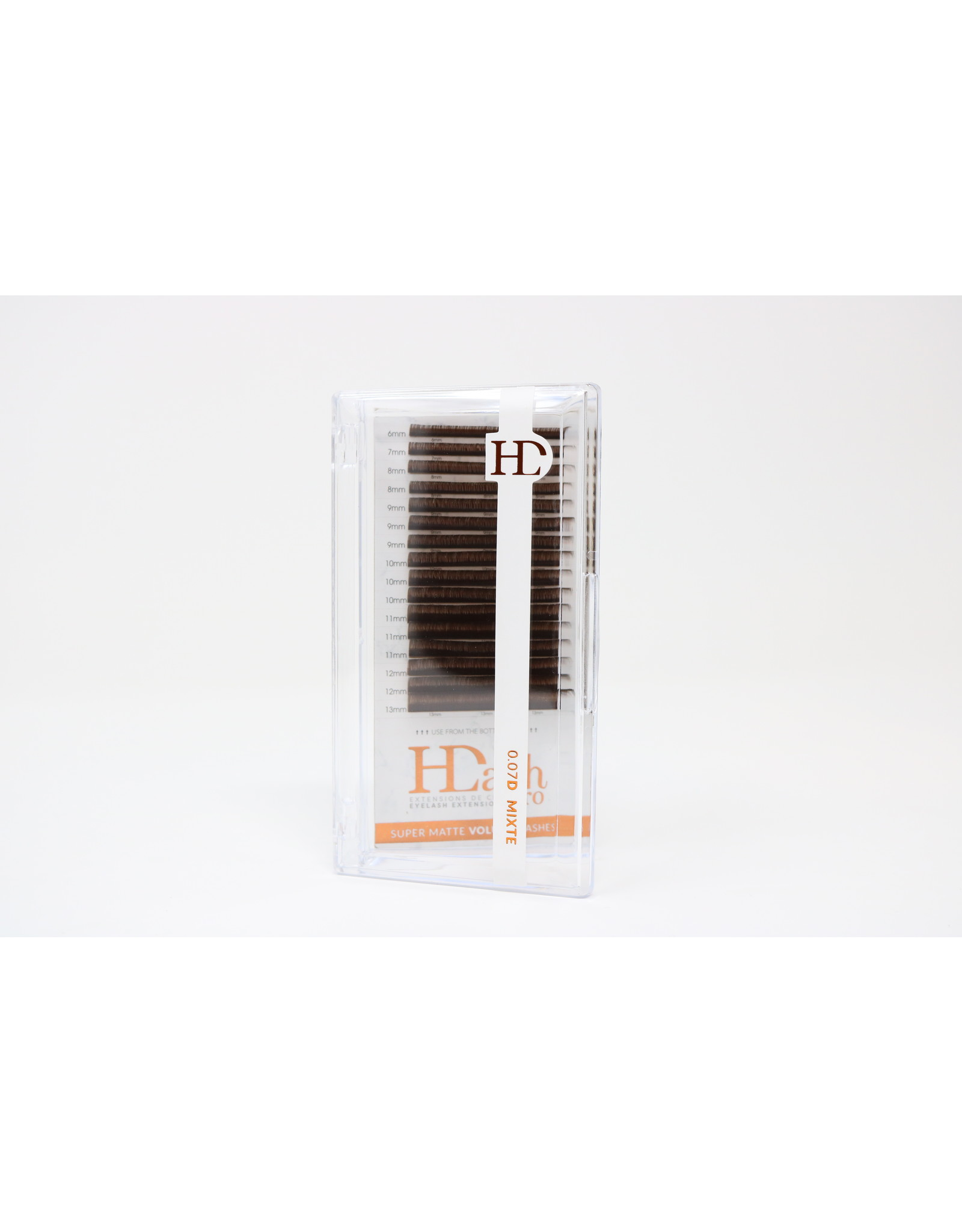 HDLASHPRO BROWN VOLUME LASHES