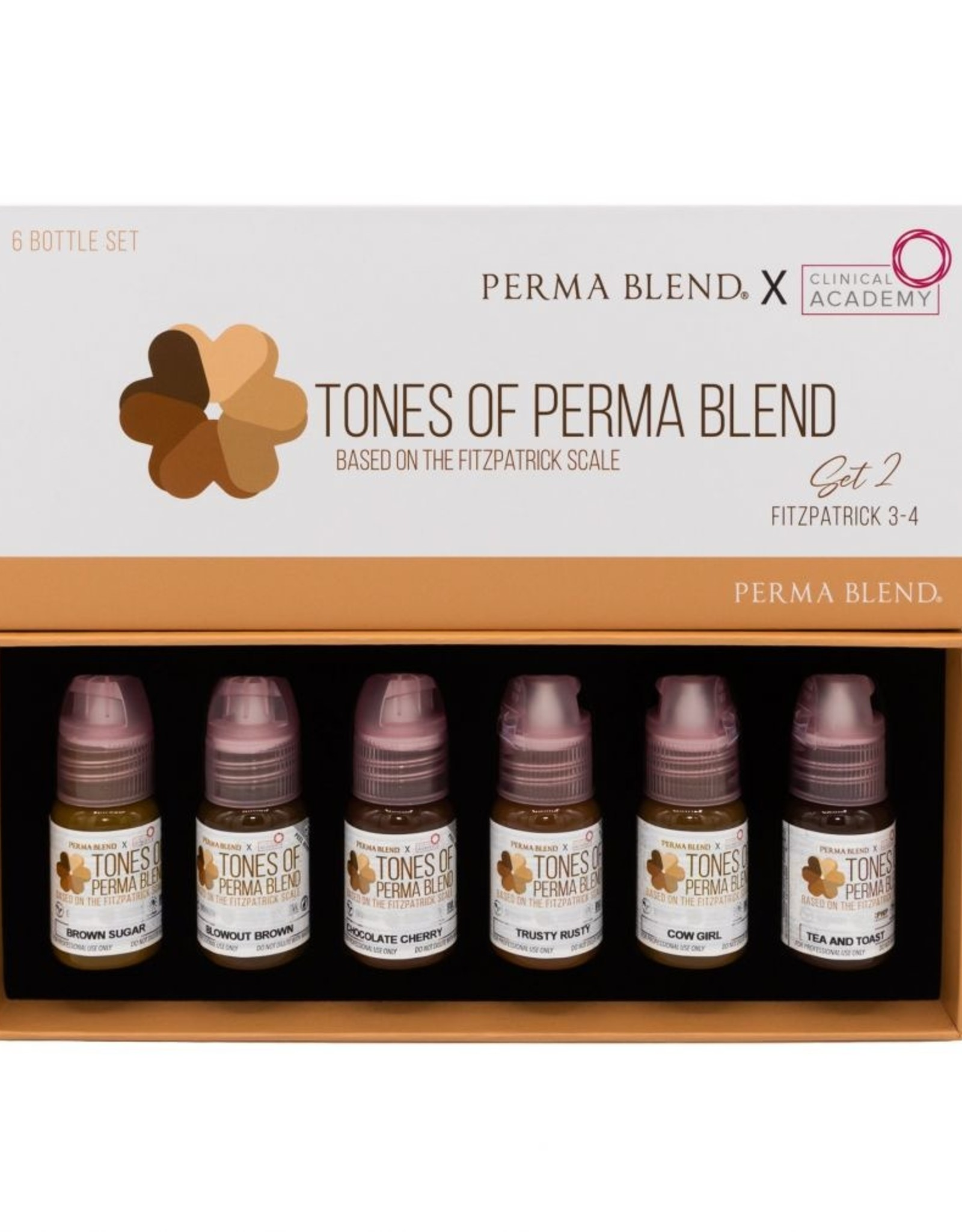 Tones of Perma Blend Set 2 (Fitzpatrick 3-4)